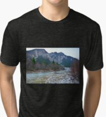 Winter Landscape Near Tolmezzo Tri-blend T-Shirt