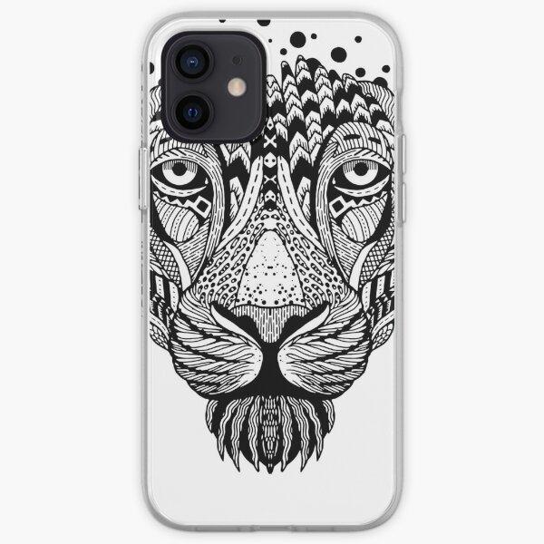 Lion Lady iPhone Soft Case
