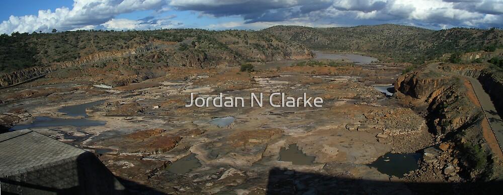 Dam Overflow by Jordan N Clarke