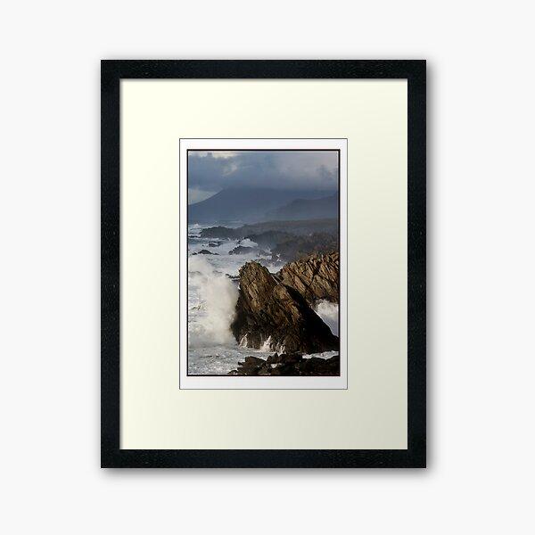 The Atlantic meets Ireland Framed Art Print