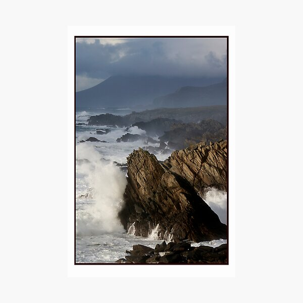 The Atlantic meets Ireland Photographic Print