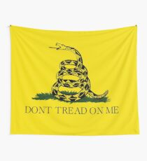 Gadsden Flag - Don't Tread On Me Wall Tapestry