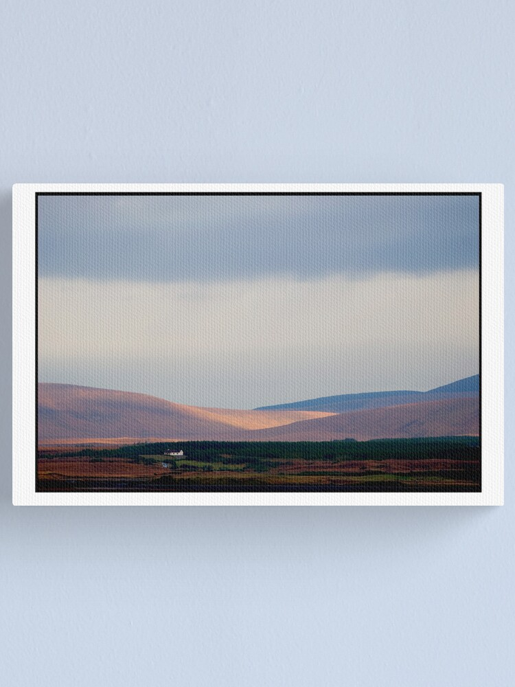 Alternate view of a day for the fire Canvas Print