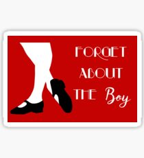 Thoroughly Modern Millie - Forget About the Boy Sticker