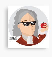 Science Geek Tshirt Geek Nerd Canvas Print
