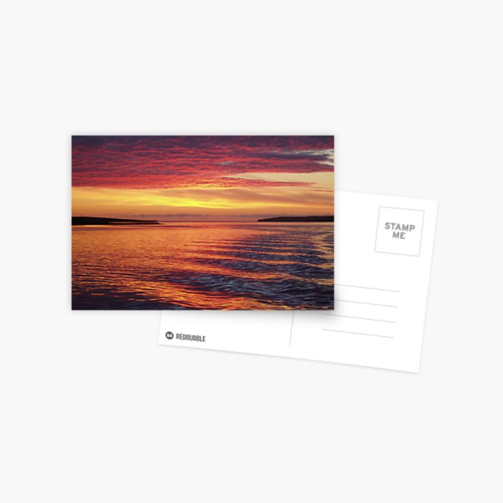 Eynhallow Sunset Postcard