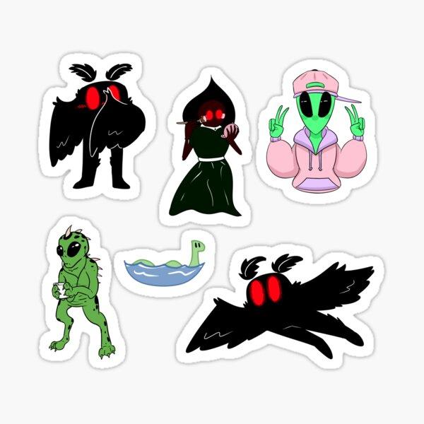 Cryptid Sticker Set Sticker