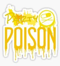 Party Poison paint splatter Sticker
