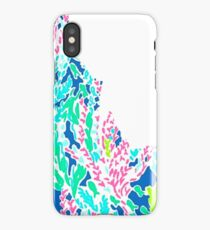 Lilly Pulitzer Idaho State Inspired  iPhone Case/Skin