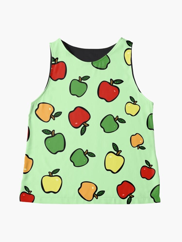 Alternative Ansicht von Äpfel! Ärmelloses Top
