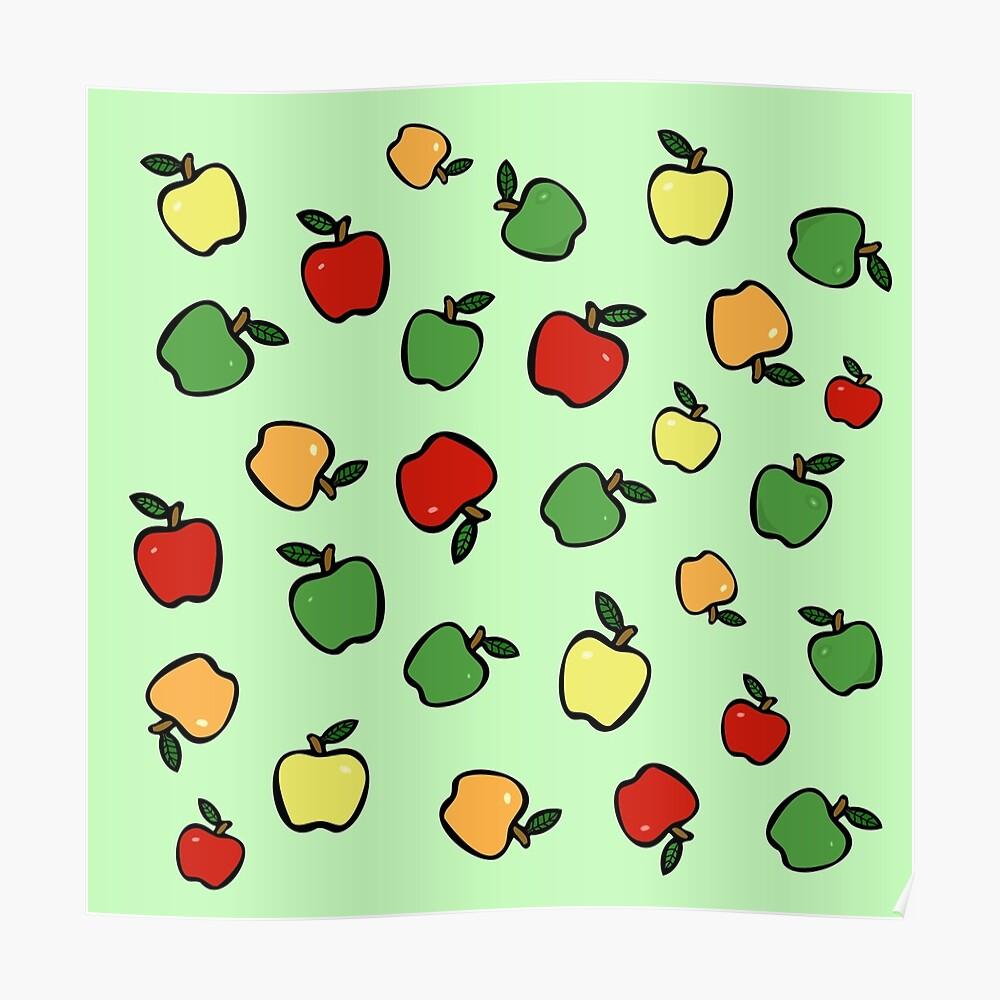Äpfel! Poster