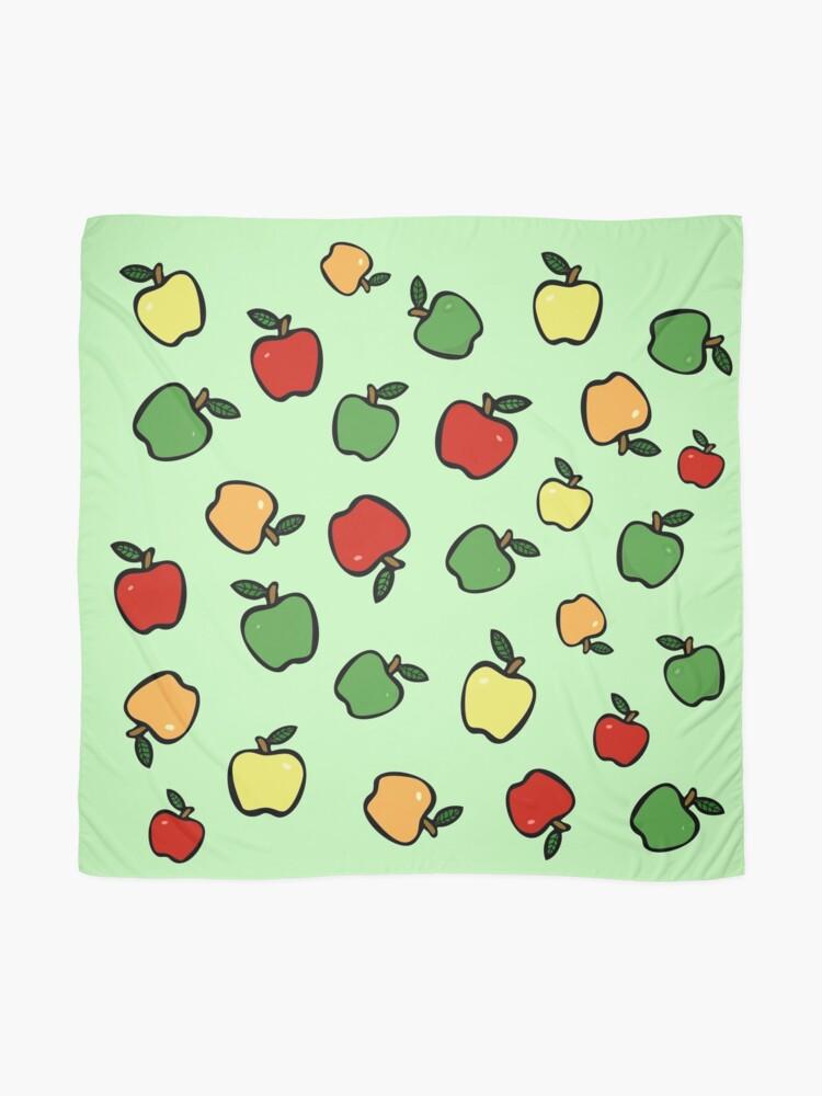 Alternative Ansicht von Äpfel! Tuch