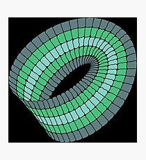 Colorful Moebius Strip  Photographic Print