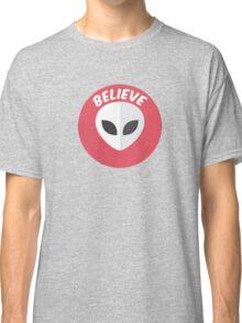 Alien Tshirt Believe Cool Classic T-Shirt
