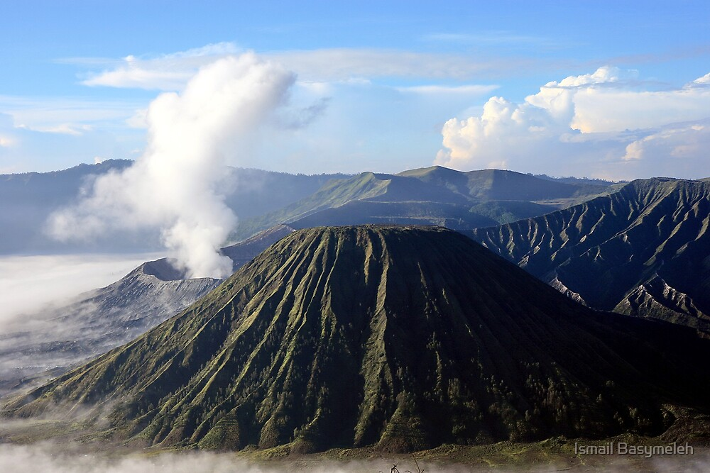 Mountain Bromo in the Mornings by Ismail Basymeleh
