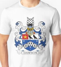 Dawson Coat of Arms Unisex T-Shirt