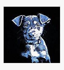 Puppy Dog Graphic Novel Drawing Photographic Print