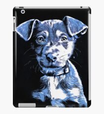 Puppy Dog Graphic Novel Drawing iPad Case/Skin