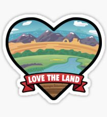 Love the Land Sticker