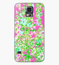Lilly Pulitzer North Carolina Print Inspired  Case/Skin for Samsung Galaxy