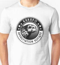 Kakapo Appreciation Society Unisex T-Shirt