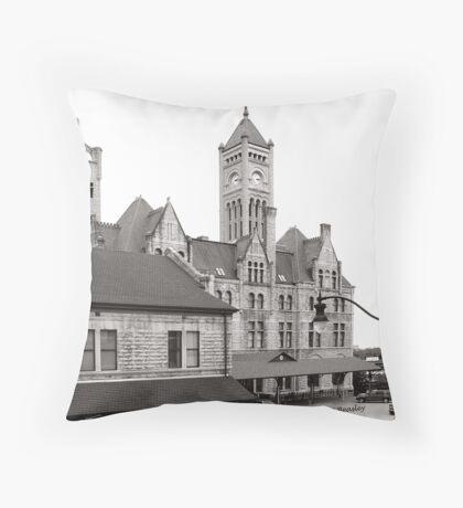 Union Station Nashville Tennessee USA Throw Pillow