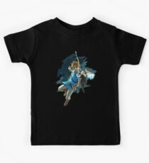Link Breath of the Wild Kids Tee