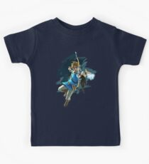 Link Breath of the Wild Kids Clothes