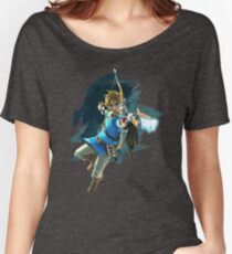 Link Breath of the Wild Women's Relaxed Fit T-Shirt