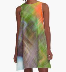 Crosscut A-Line Dress