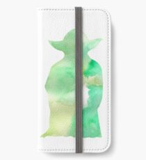 Yoda watercolor iPhone Wallet/Case/Skin