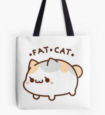 Fette Katze Tote Bag