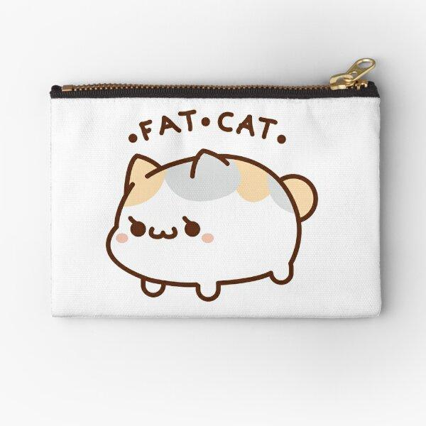 Fat Cat Zipper Pouch