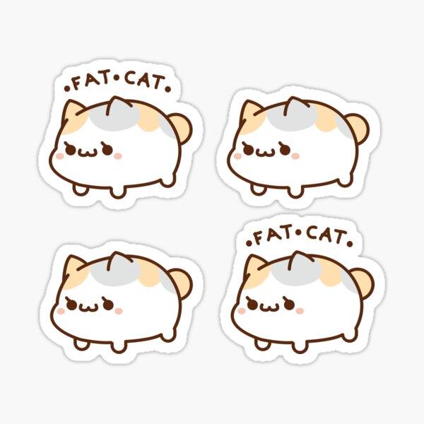 Fette Katze Sticker