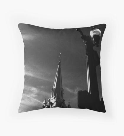 afternoon de light Throw Pillow