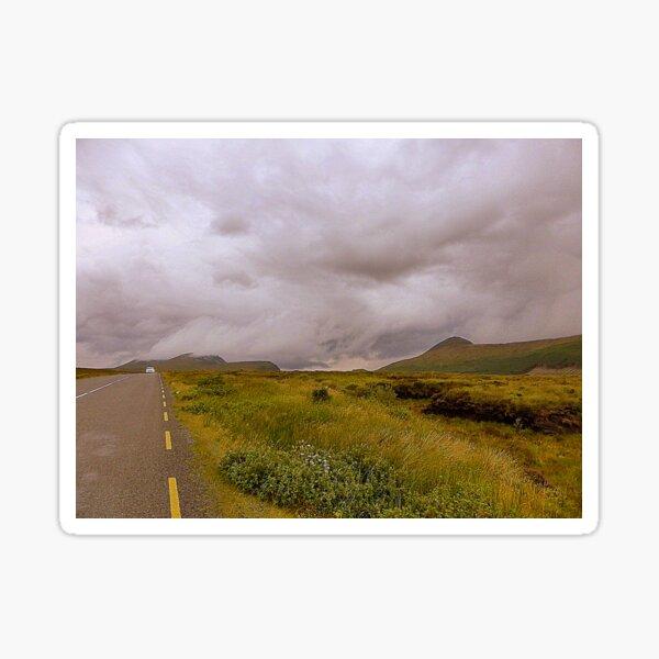 The Road To Errigal..............................Ireland Sticker