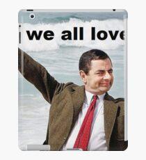 Mr. Bean iPad Case/Skin