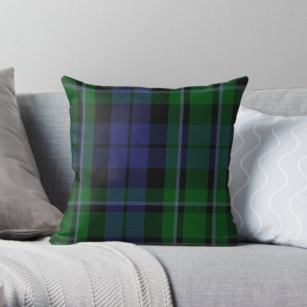 MacCallum Clan/Family Tartan  Throw Pillow