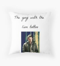 The Guy With The Lion Tattoo - Robin Hood Throw Pillow