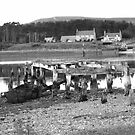 broken pier loch fleet by Nazim