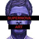 Supernova Art Logo by Adam Campbell