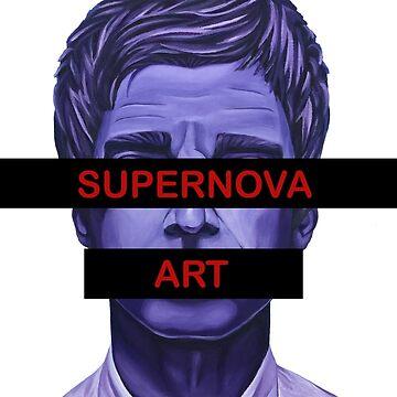 Supernova Art Logo by adam12314