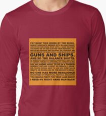 Guns and Ships Rap  T-Shirt