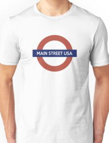 Next Stop, Main Street USA Unisex T-Shirt