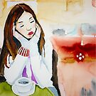 coffee takes me away to Kenya by Claudia Dingle