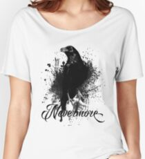 Nevermore Women's Relaxed Fit T-Shirt