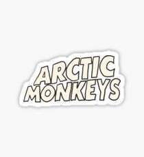 Artic monkeys sticker Sticker