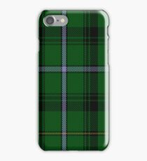 MacCandlish Hunting Green Clan/Family Tartan  iPhone Case/Skin