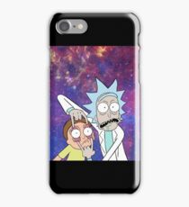 Rick and Morty space iPhone Case/Skin