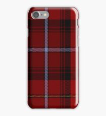 MacCandlish Red Clan/Family  iPhone Case/Skin